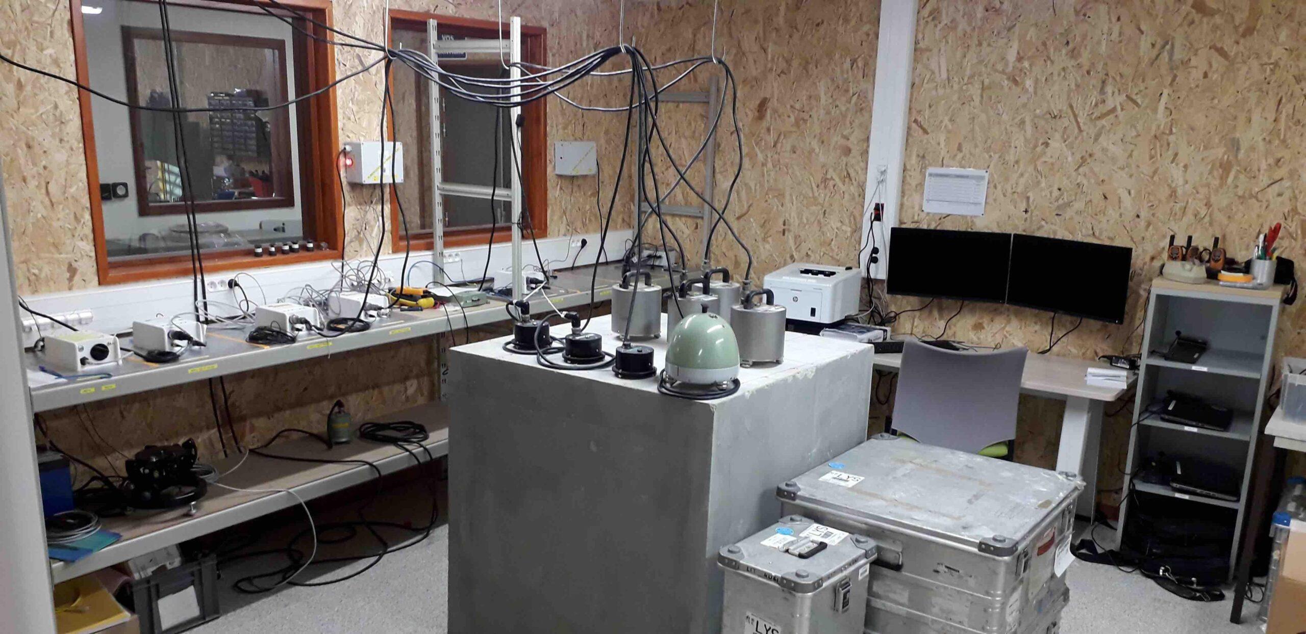 Plateforme instrumentale sismologique de l'OSUG/ISTerre